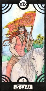 Trump 19 in the Revenant Tarot Deck