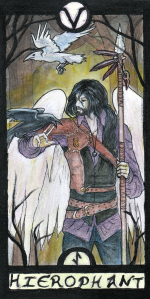 Card 5 in the Revenant Tarot deck.
