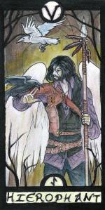 Card 5 in the Revenant Tarot deck.