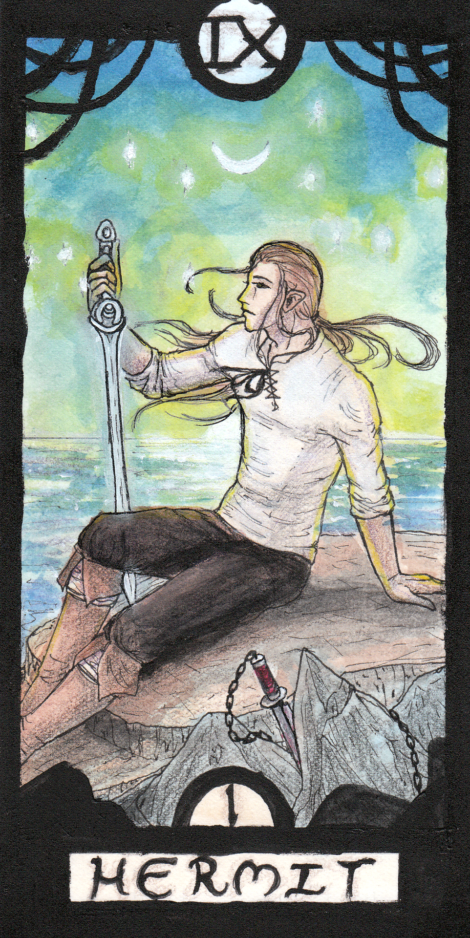 The Hermit Tarot Card Meaning In Readings Isolation: Being The Hermit
