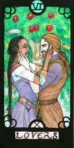 Card 6 in the Revenant Tarot deck.